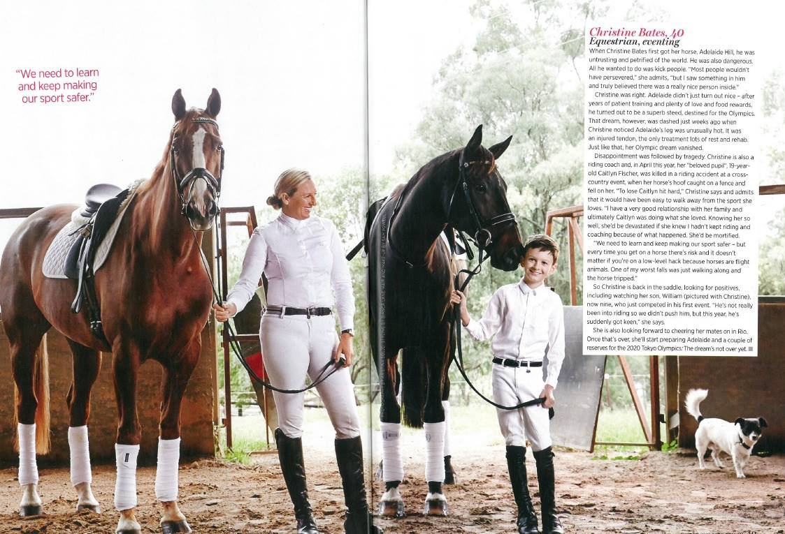 A great feature of sponsored rider Christine Bates