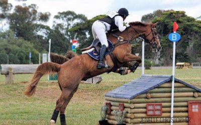 Sponsored rider Christine Bates back at it